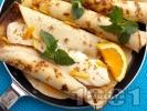 Рецепта Портокалови палачинки с мед и нежен крем